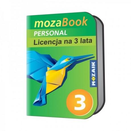 Mozabook Personal - 3 lata