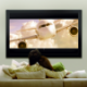 Suprema Taurus Multiformat 221x125 Matt Grey HD Movie (format 16:9)