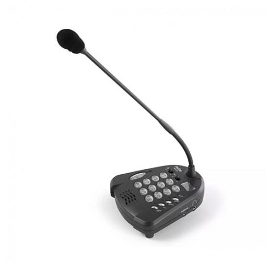Mikrofon biurkowy MCH-221D z odtwarzaczem/nagrywarką