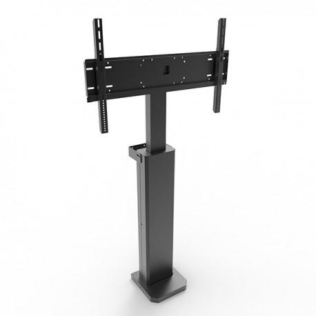 Podstawa przyścienna teleskopowa z elektr. reg. wysokości do monitorów (maks. 84 cale)