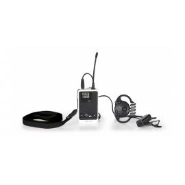 TOUR-2T dwukierunkowy bezprzewodowy nadajnik komunikatów  z mikrofonem
