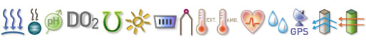 Labdisc BioChem - wbudowane czujniki