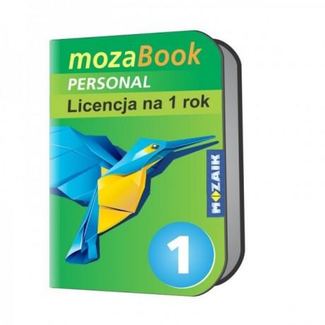 Mozabook Personal - 1 rok