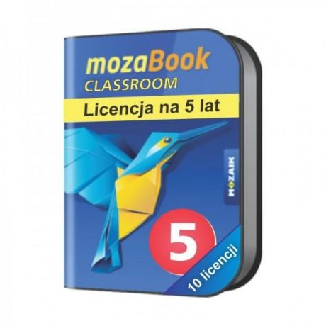 Mozabook Classroom Pack (10 licencji) - 5 lat