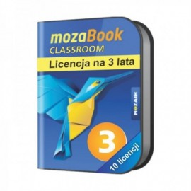 Mozabook Classroom Pack (10 licencji) - 3 lata
