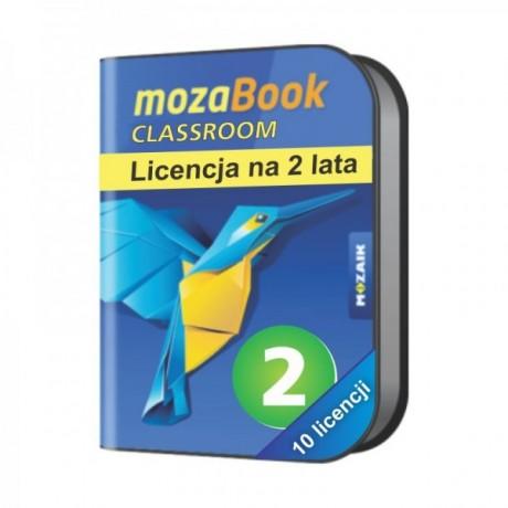 Mozabook Classroom Pack (10 licencji) - 2 lata
