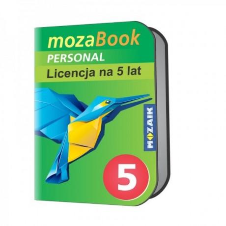 Mozabook Personal - 5 lat