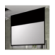Suprema Polaris 203x114 Matt White HD (format 16:9)