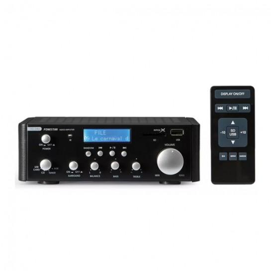 AS-24U wzmacniacz stereo Hi-Fi 2x25W