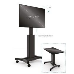 Podstawa mobilna do monitora 2w1