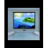 Ekran Suprema Feniks 282x159 Matt Grey HD (format 16:9)