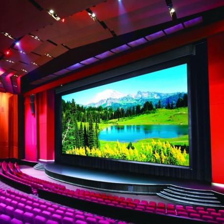 Wielkoformatowy ekran Suprema Herkules Maxi 850x478 Kaseta drewniana Matt White MAXI (format 16:9)