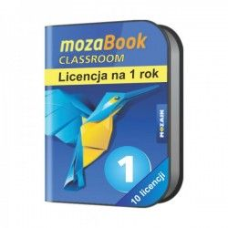 Mozabook Multilanguage Pack (10 licencji) - 1 rok