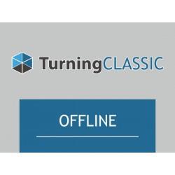 TurningClassic Offline - 1 rok dla odbiornika RF OFFLINE (maks. 250 pilotów)