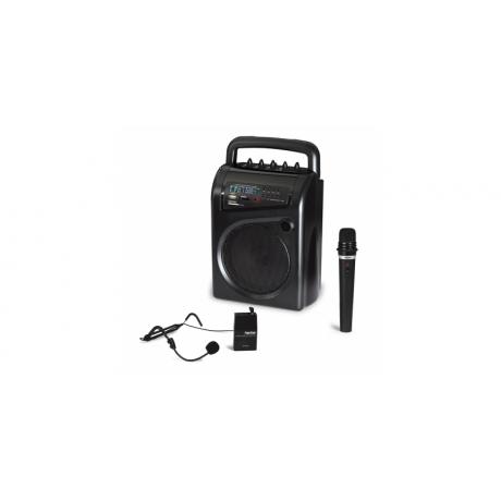Przenośny aktywny system ASH-52GU z odtwarzaczem USB/SD/MP3