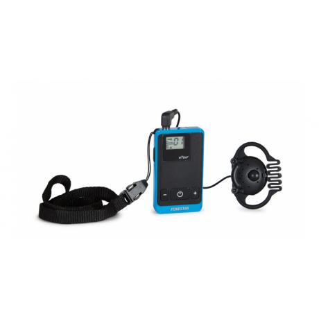 TOUR-2R dwukierunkowy bezprzewodowy odbiornik komunikatów ze słuchawką