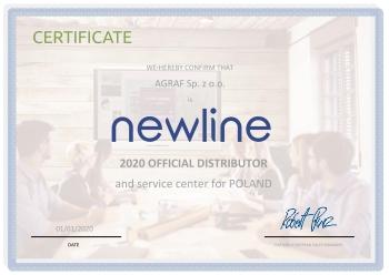 certyfikat Newline dla Agraf