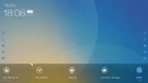 Monitor Newline TruTouch X7 - szybki dostęp do narzędzi adnotacji (Collaboration Hub)